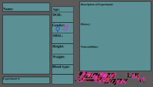 Danganronpa Lab Au Profile Base by KnackMaster77