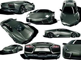 Lamborghini Reventon Wallpaper by nikita144