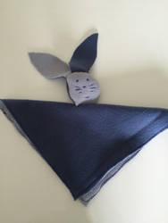 a comforter / un doudou lapin by AsukaSatochi