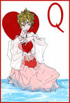 The Queen of Hearts by lacewing