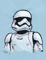 Stormtrooper by LeftHandedMutant