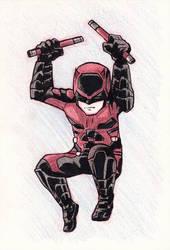 Li'l Daredevil by LeftHandedMutant
