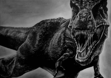 Dinosaur drawing by lyyy971