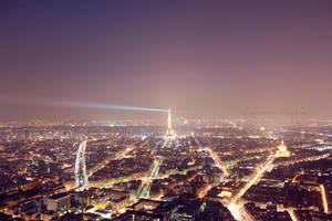 Paris by night by arianneharris