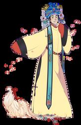 folklore AU rongmao by kimitama