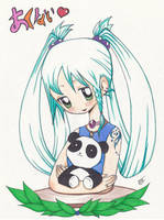 my devi id by inami4 - oc Akanai by SketchesInMinutes