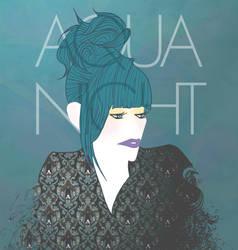 Aqua Night by Red-Cha