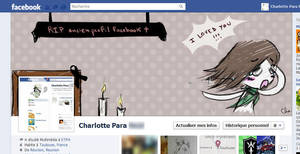 Timeline profile on FB by Red-Cha