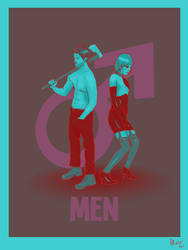 Men (contest) by Red-Cha