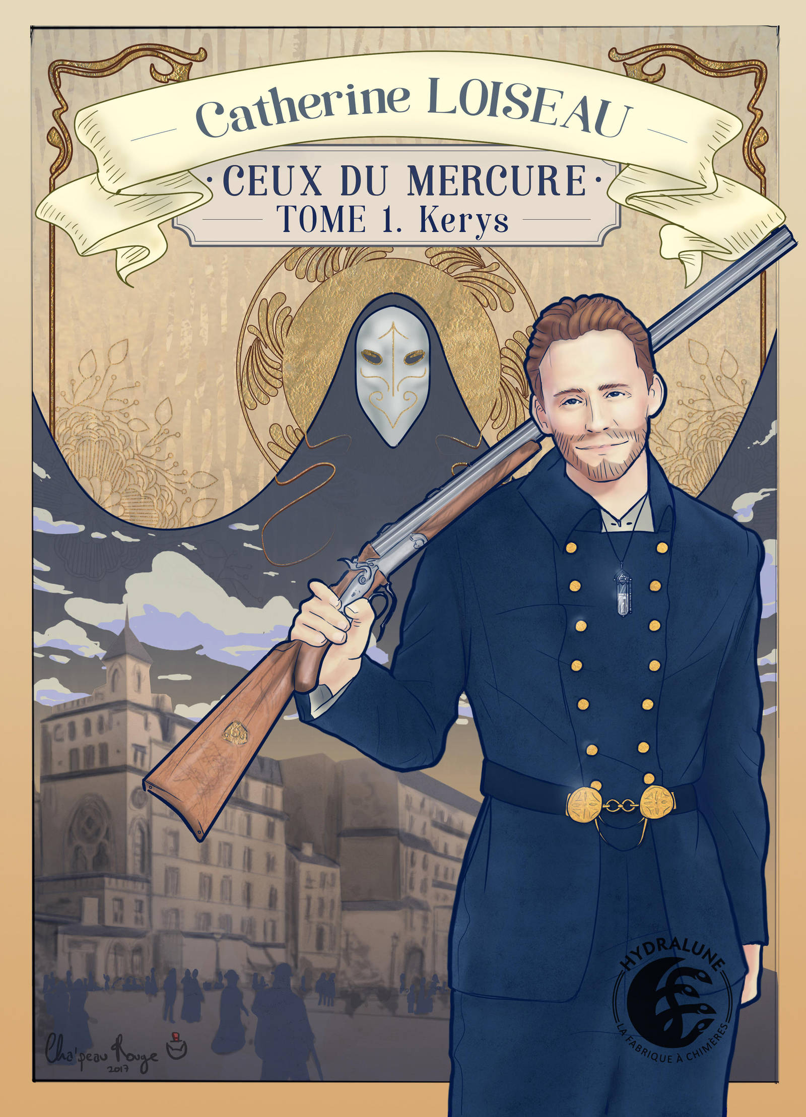 Book Cover 'Ceux Du Mercure' No.1 by Red-Cha