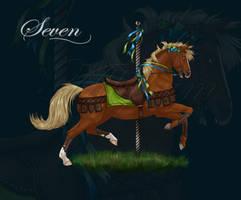 Seven Carousel by Allybean