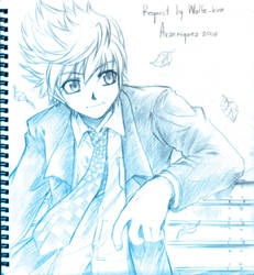 roxas in suit by arseniquez