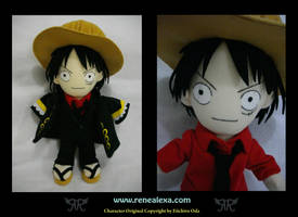 Monkey D Luffy - Strong World by renealexa-plushie