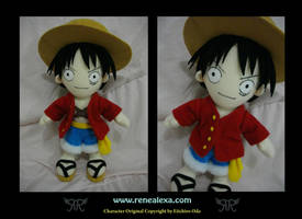 Monkey D Luffy - 2Y by renealexa-plushie