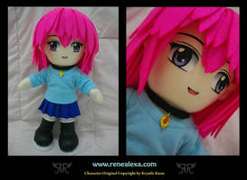 Mina by renealexa-plushie