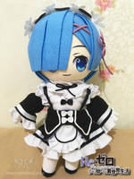 Rezero - Rem Plushie by renealexa-plushie