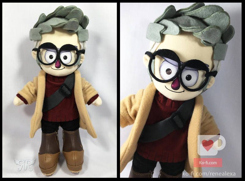 Standford - Gravity Falls by renealexa-plushie