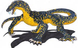 Foxtrot-Neo-megalania by NVraptor08