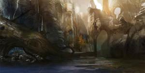 landscape by alexmartinez