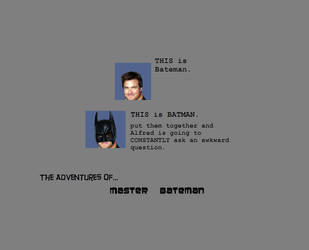 Master Bateman by SAGarrett