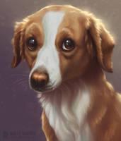 Sadie Portrait by SilverSkittle