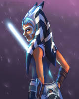 Ahsoka - Star Wars: Clone Wars by SilverSkittle