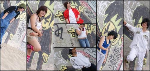 AAA: members montage by KAZUHOLIC