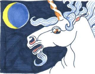 Unicorn Moon by shastaofthewolves
