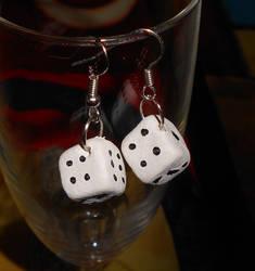 Take A Chance Earrings by prplfreakisobssessin