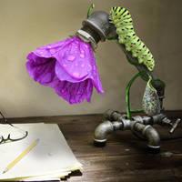 Lamp Flower by Taitaviracocha