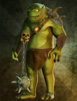 Ogro by Taitaviracocha