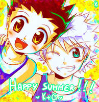 HxH - Happy summer by Yuki-mono