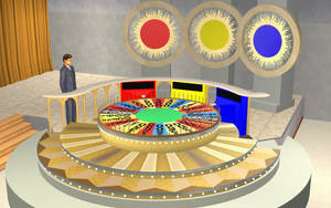 The Sims 2, Wheel Of Fortune 1983 Prize Wheel, #A by ddgjdhh
