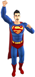 Superman In The Sims 2 (Pic #S) by ddgjdhh