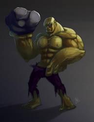 Mornin' Warm-Up : The Hulk by KendrickTu