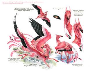 Custom Aequis: Flamingo by pallanoph