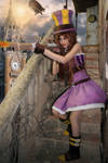 Cosplay caitlyn from league of legends 3 by Lucy-Dark-Dreams
