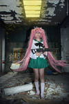 cosplay saya from highschool of the dead 2 by Lucy-Dark-Dreams