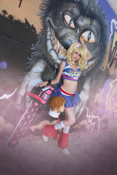cosplay juliet from lollipop chainsaw 1 by Lucy-Dark-Dreams