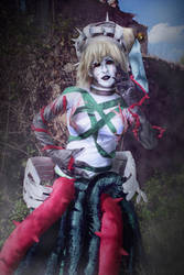 cosplay aida atoli from hack 1 by Lucy-Dark-Dreams