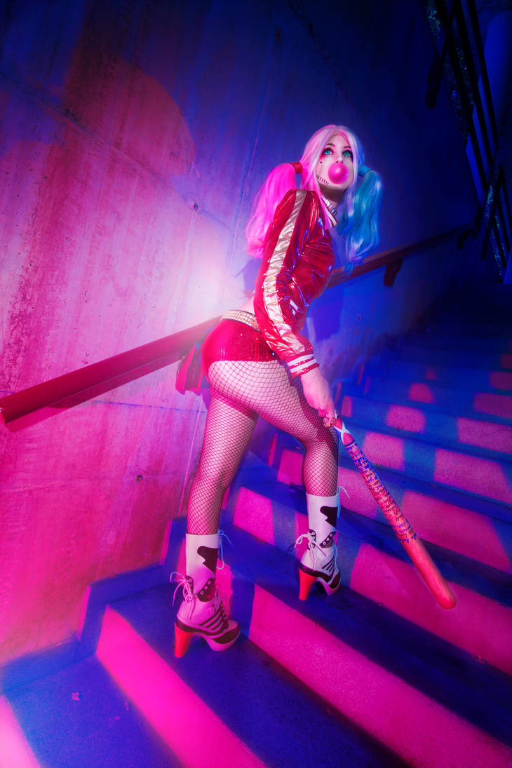 cosplay harley quiin from suicide squad 1 by Lucy-Dark-Dreams