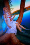 cosplay Asuna from sao 1 by Lucy-Dark-Dreams