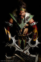 Draven The Glorious Executioner by ShinrajunkieCosplay