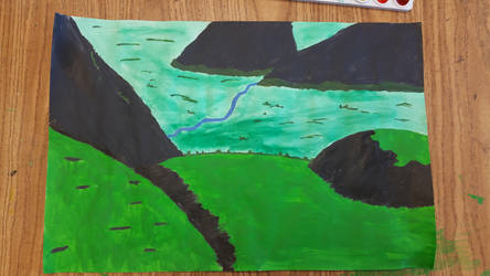 Landscape Painting by DavidTheGreat5