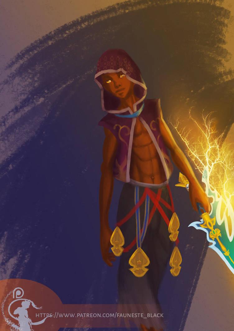 Bahamut :fiery by fauneste-black
