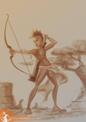 Archer by fauneste-black