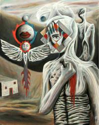 Self Hypnosis by FrankHeilerArt