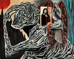 The Burden of Grief by FrankHeilerArt