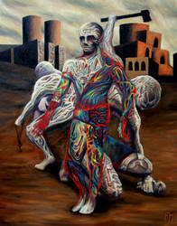 The Dissection of Man by FrankHeilerArt