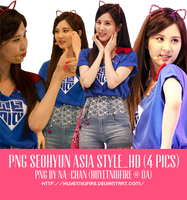 Pack PNG Seohyun Asia style_HD (4pics) by huyetniufire